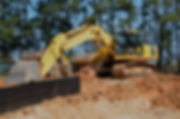 Construction equipment for new build land development project