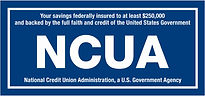 NCUA insurance disclaimer