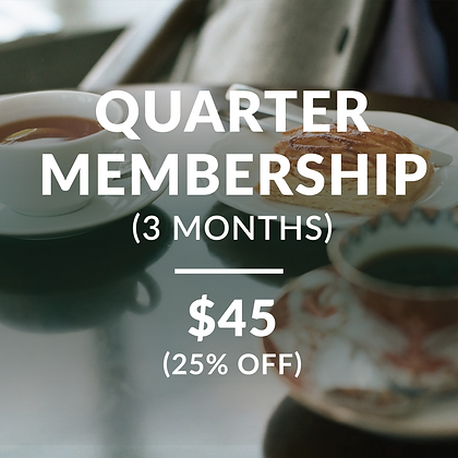 Quarter Year Membership