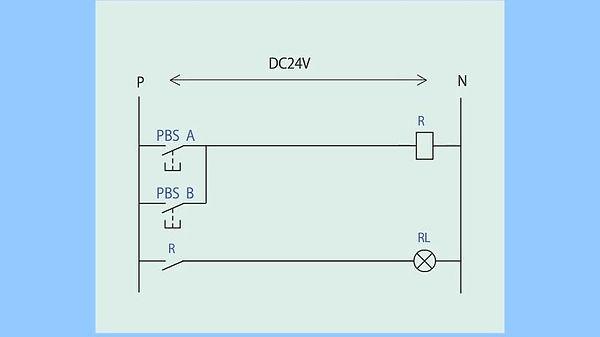 ③(ランプ付き制御盤)並列a接点④_動作+シーケンス図(最初).jpg