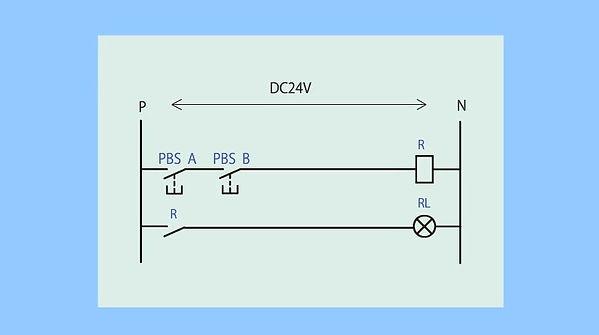 ①(ランプ付き制御盤)直列a接点④_動作+シーケンス図(最初).jpg