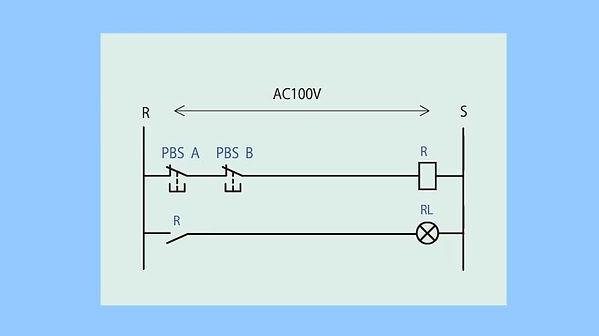 ②(ランプ付き制御盤)直列b接点④_動作+シーケンス図(最初).jpg