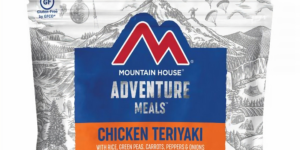 Chicken Teriyaki w/ Rice & Veggies