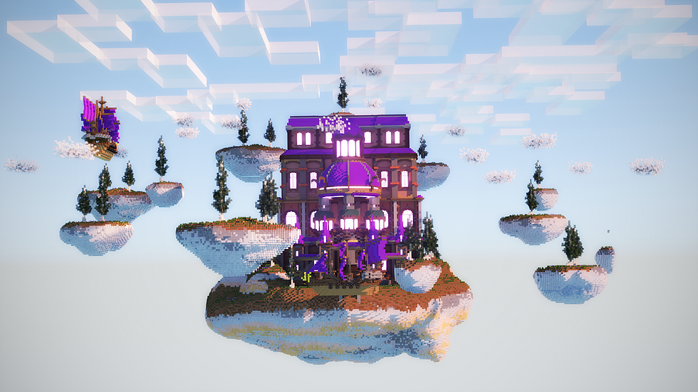 Purple Palace Skyblock Spawn