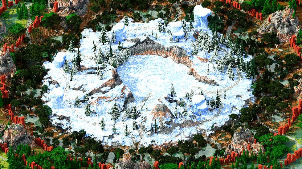 Swamp Glacier Warzone