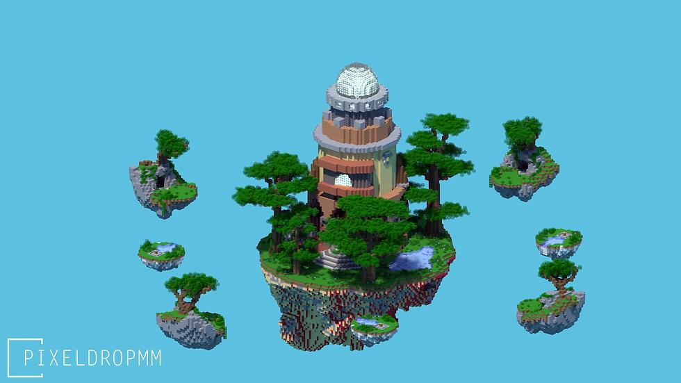 Forest 2 - SkyWars / Bedwars Map