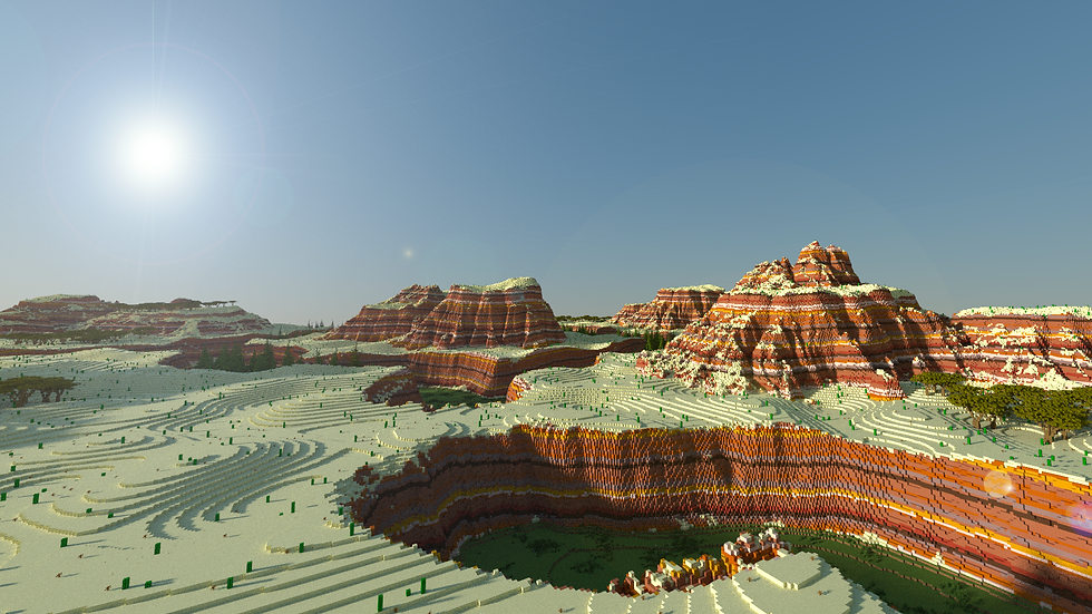 5k x 5k Mesa Terrain