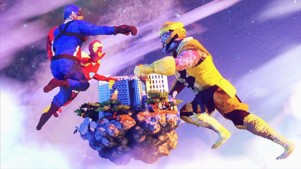 Superhero Skyblock Spawn
