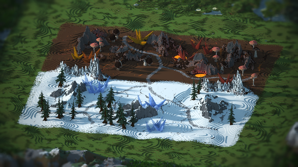 Fire & Ice Warzone