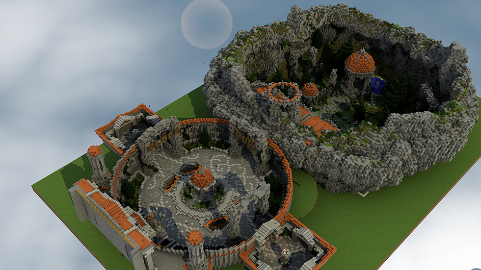 Ancient PVP Arena + Spawn