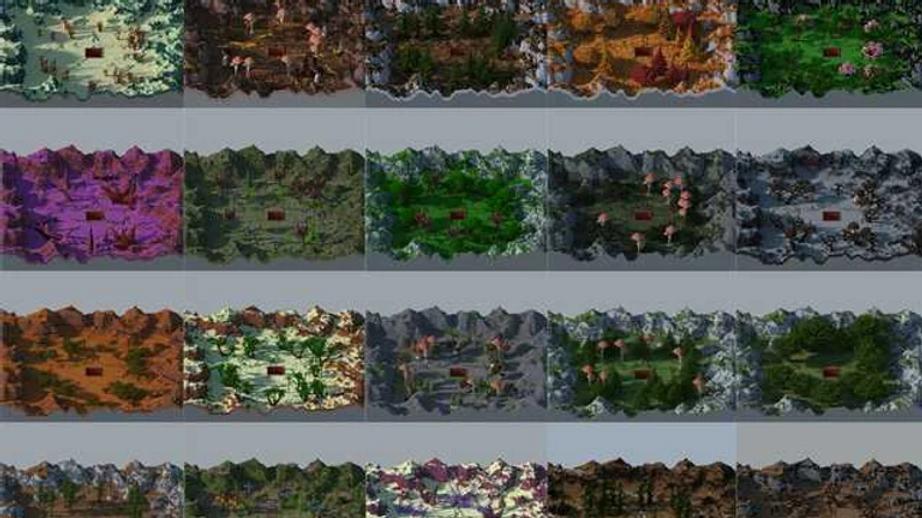 20 Nature Prison Mines