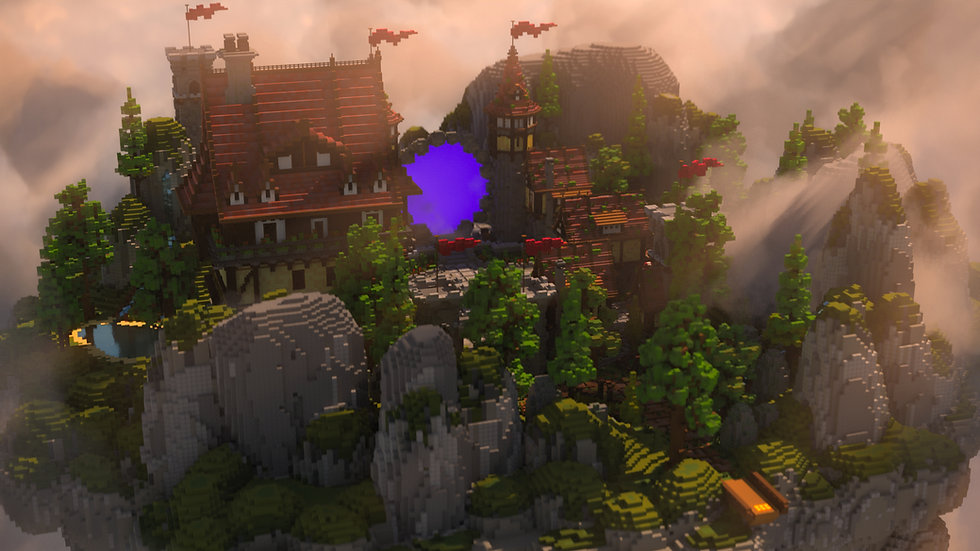 Classic Medieval Skyblock Spawn