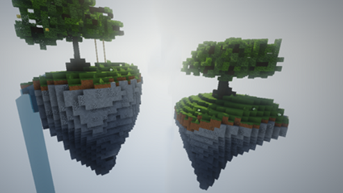 2 Skyblock Islands