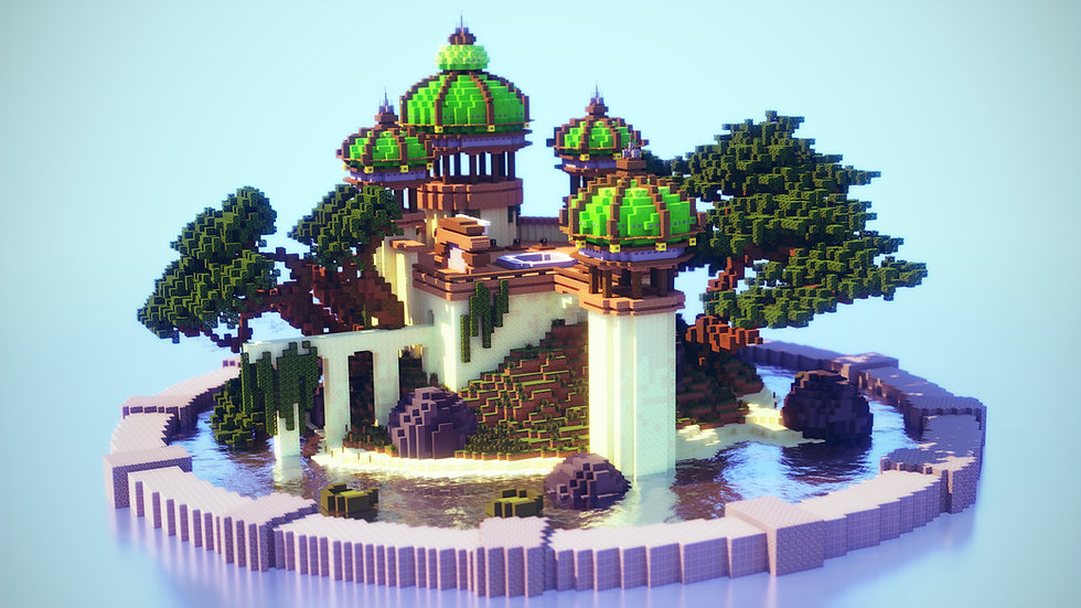 Green Domed Hub