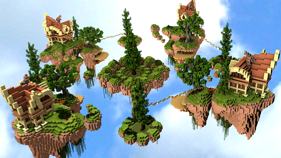 Forest - SkyWars / Bedwars Map