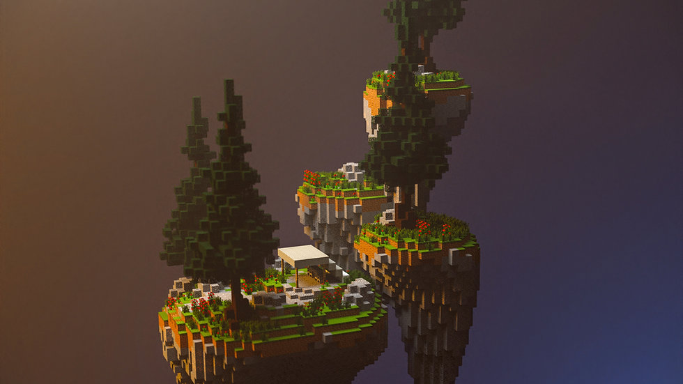 Blacksmiths Skyblock Island