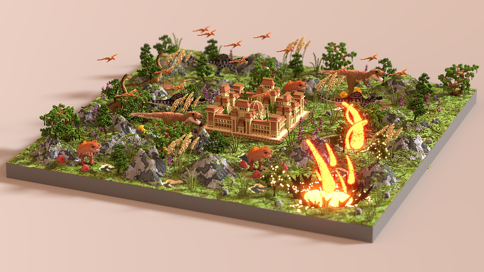 Jurassic Factions Spawn & Warzone