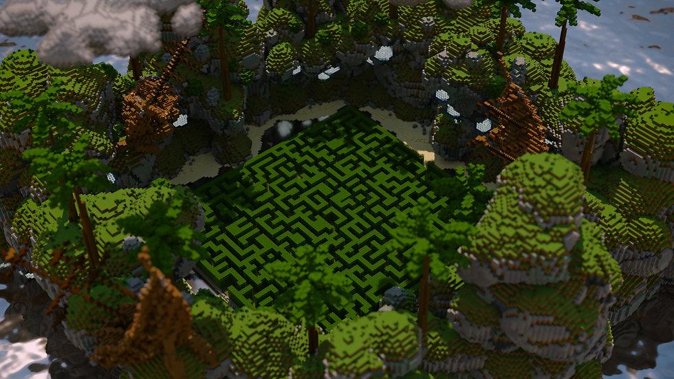 Tropical Cove Maze