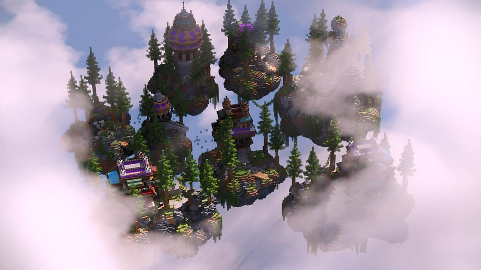 Mystic Forest Skyblock Spawn