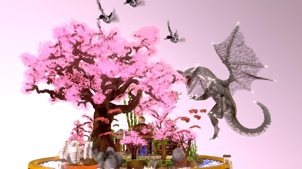 Blossom Skyblock Spawn