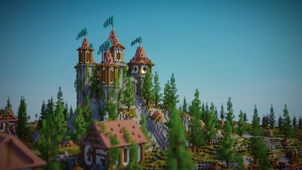 Castle HCF / UHC Spawn & Warzone