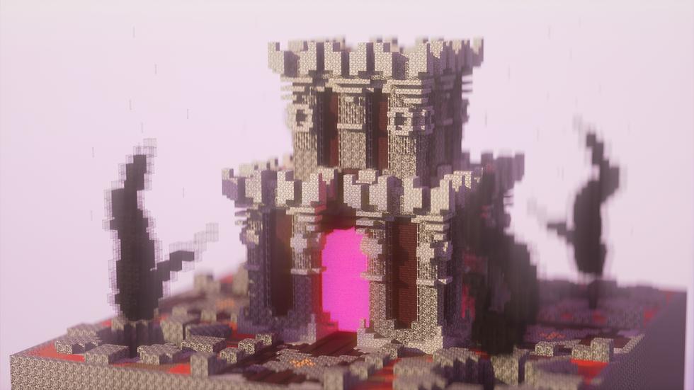 Gothic Nether Portal