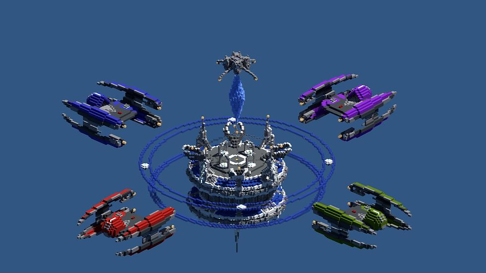 Space - SkyWars / Bedwars Map