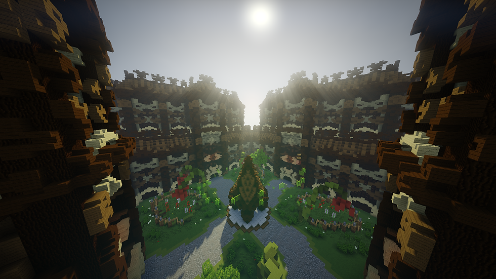 Wooden Lobby