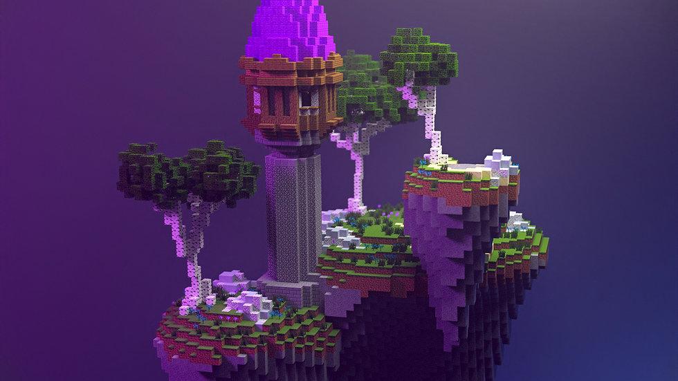 Wizardry Skyblock Island