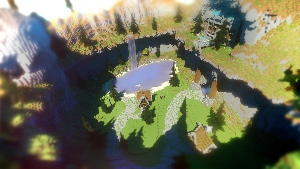 Classic PVP Arena + Spawn