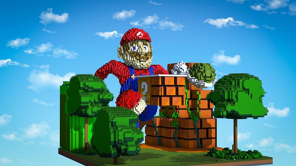 Mario Drop Party Arena