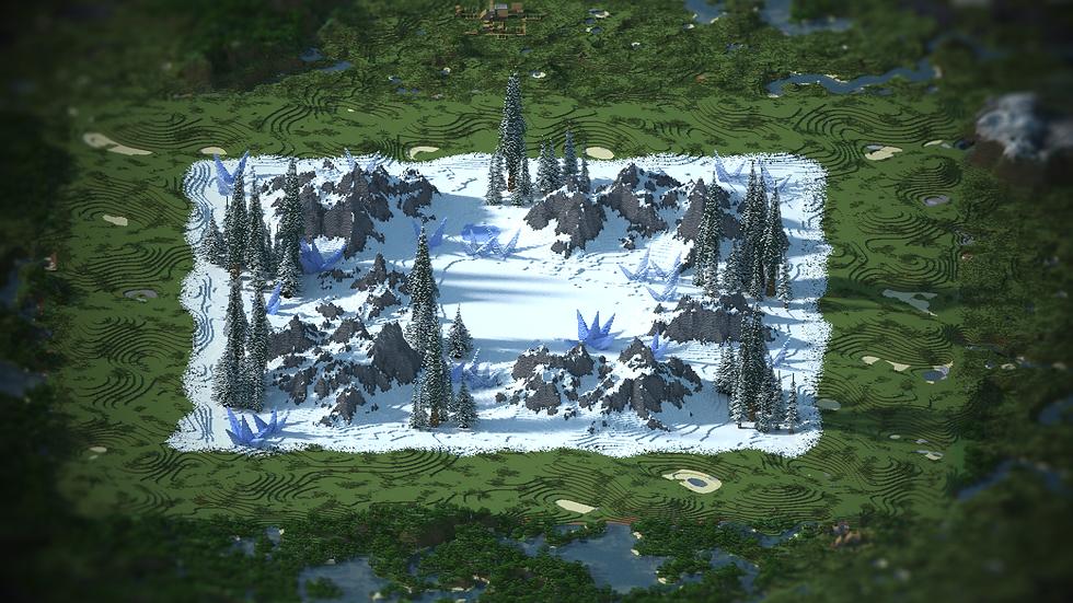 Winter Snow Warzone