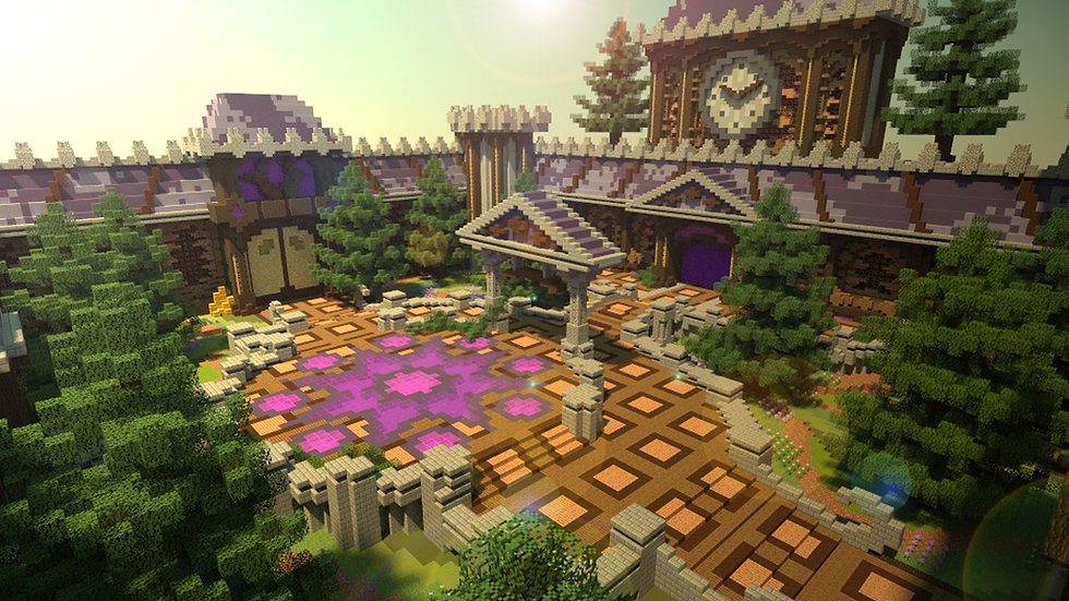 Purple Magic Hub