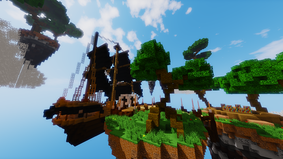 Pirate Skyblock Spawn