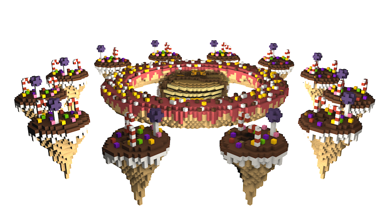 Candy Islands - SkyWars / Bedwars