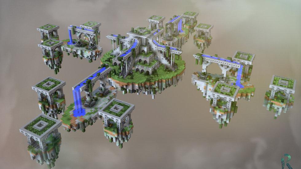 Aqueduct - SkyWars / Bedwars