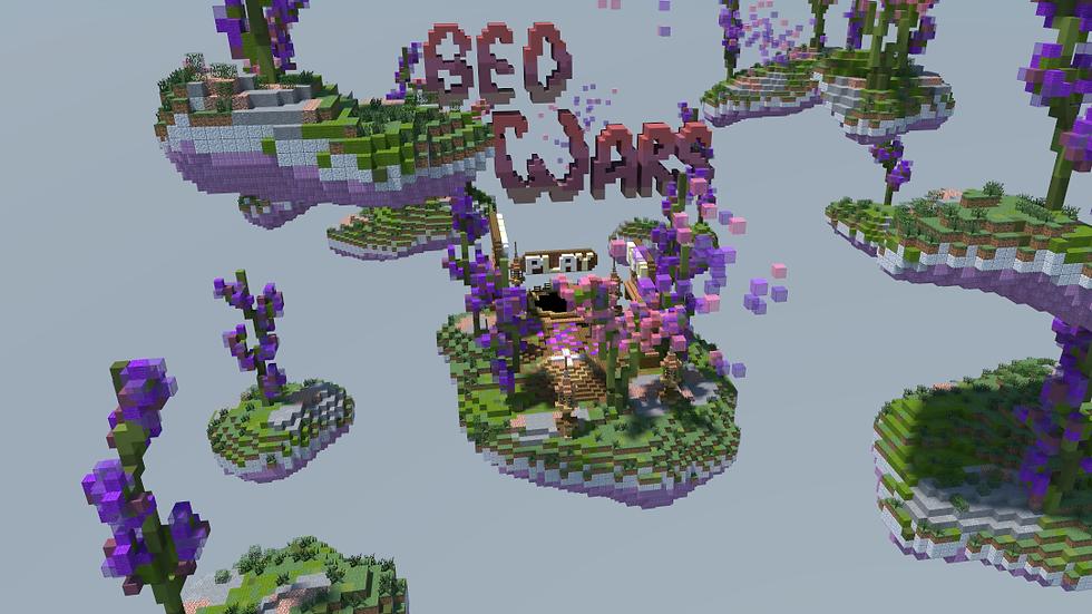Lavender BedWars Lobby