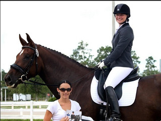 Heidi and Celeste win Tack Matters Award at Gold Coast May Show