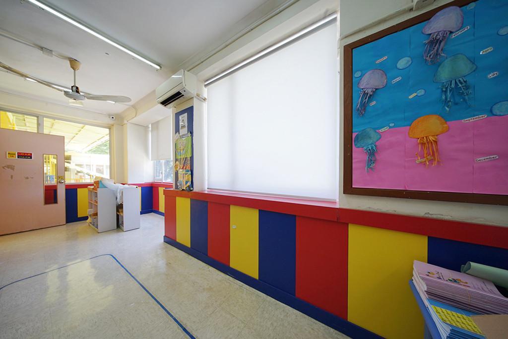 捲簾-幼稚園透光效果 | Hometown Design