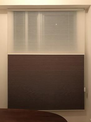 蜂巢簾-拉繩日夜簾操作展示   Hometown Design