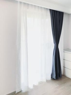 布藝窗簾-灰色 | Hometown Design