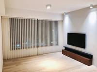 垂直柔紗簾-窗簾透光效果 | Hometown Design