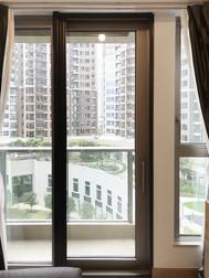 蚊網-捲式客廳露台門效果 | Hometown Design