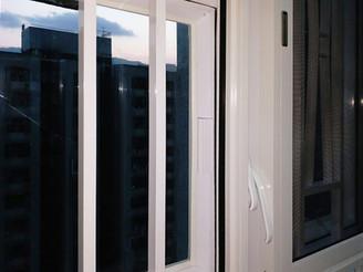蚊網-掩窗式白色效果 | Hometown Design