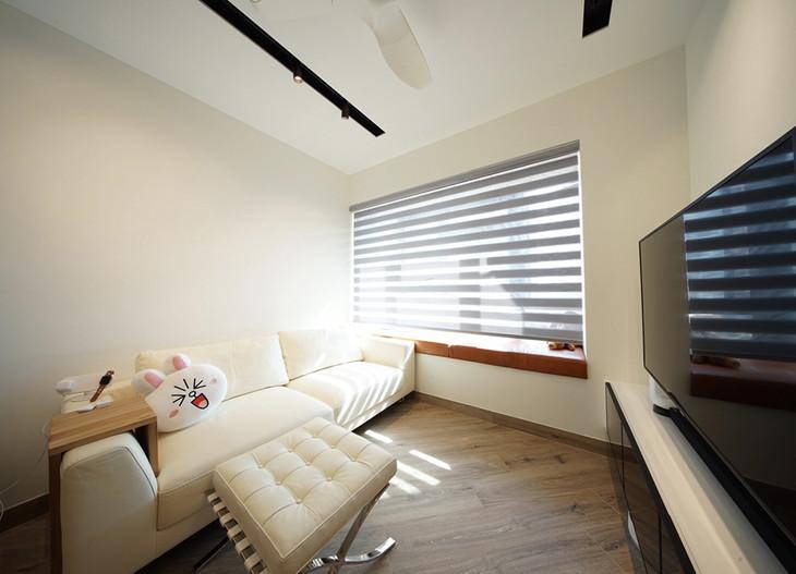 斑馬簾-窗簾簡潔風格   Hometown Design