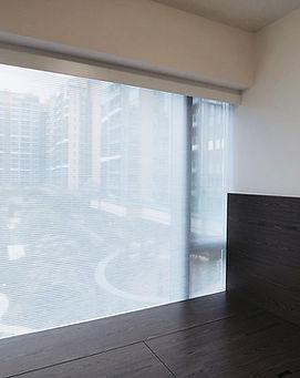 蜂巢簾-窗簾透光物料   Hometown Design