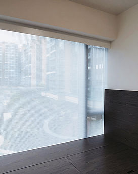 蜂巢簾-窗簾透光物料 | Hometown Design
