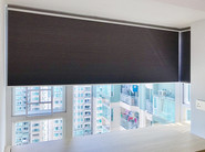 蜂巢簾-L形窗戶直角效果   Hometown Design
