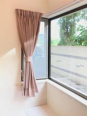 布藝窗簾-粉色 | Hometown Design