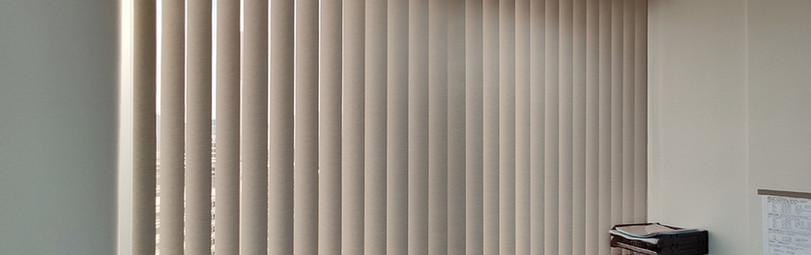垂直簾-商用辦公室關閉效果 | Hometown Design